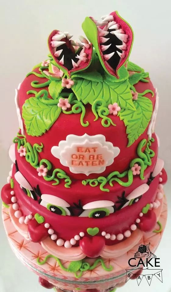 Great Little Shop Of Horrors Cake Musicals Pinterest