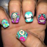 25+ best ideas about Crazy Nails on Pinterest | Crazy ...
