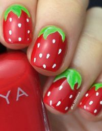 25+ Best Ideas about Strawberry Nail Art on Pinterest ...