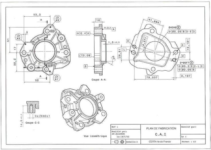 138 best images about Mechanical drawings / Blueprints
