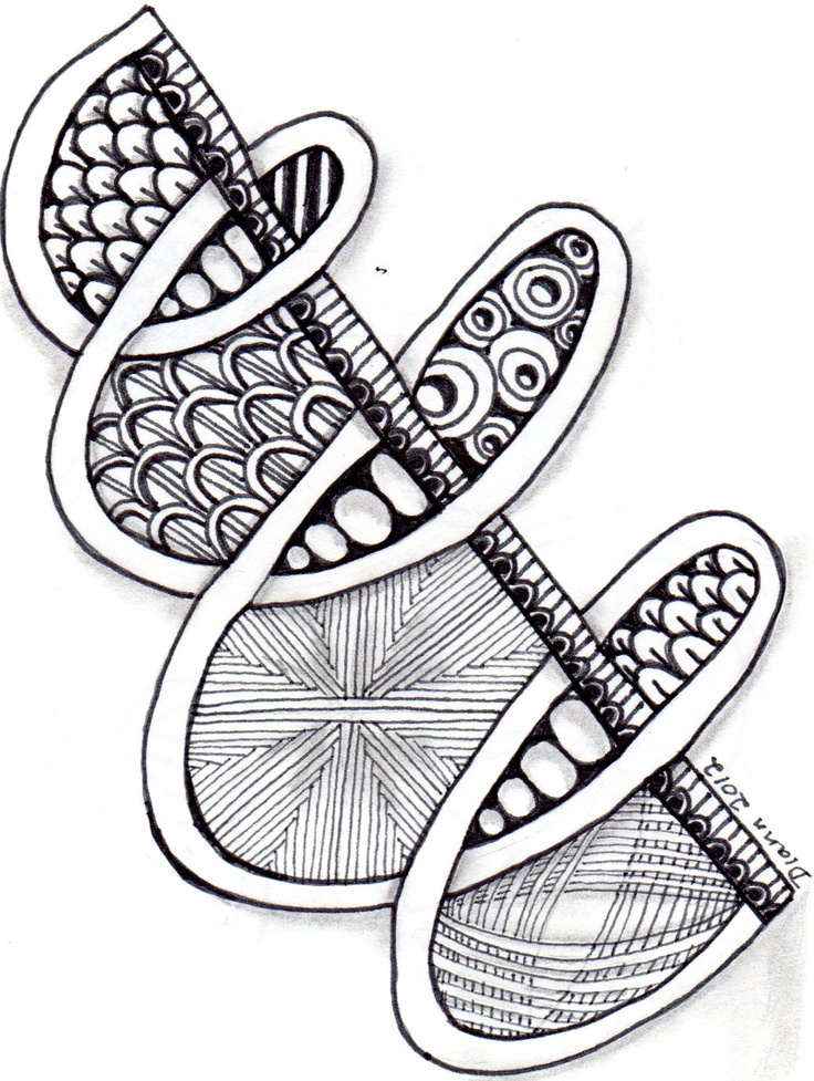 463 best images about Zentangle Examples on Pinterest