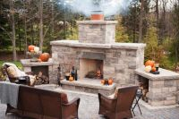 DIY Outdoor Fireplace Plans | ... built bbq designs home ...