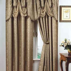 Burgundy Kitchen Curtains Large Islands With Seating Details About Luxury, Portofino Window Curtain: Jacquard ...