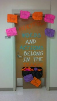 Shut the door on bullying. Raising awareness through