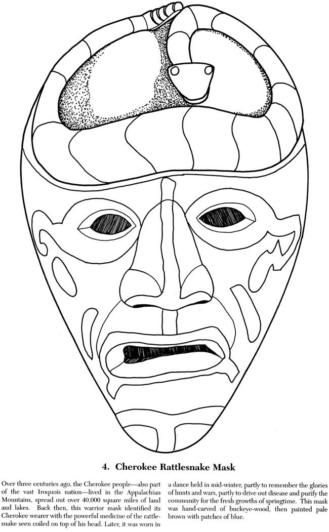 Buffalo Mask Template Printable Sketch Coloring Page