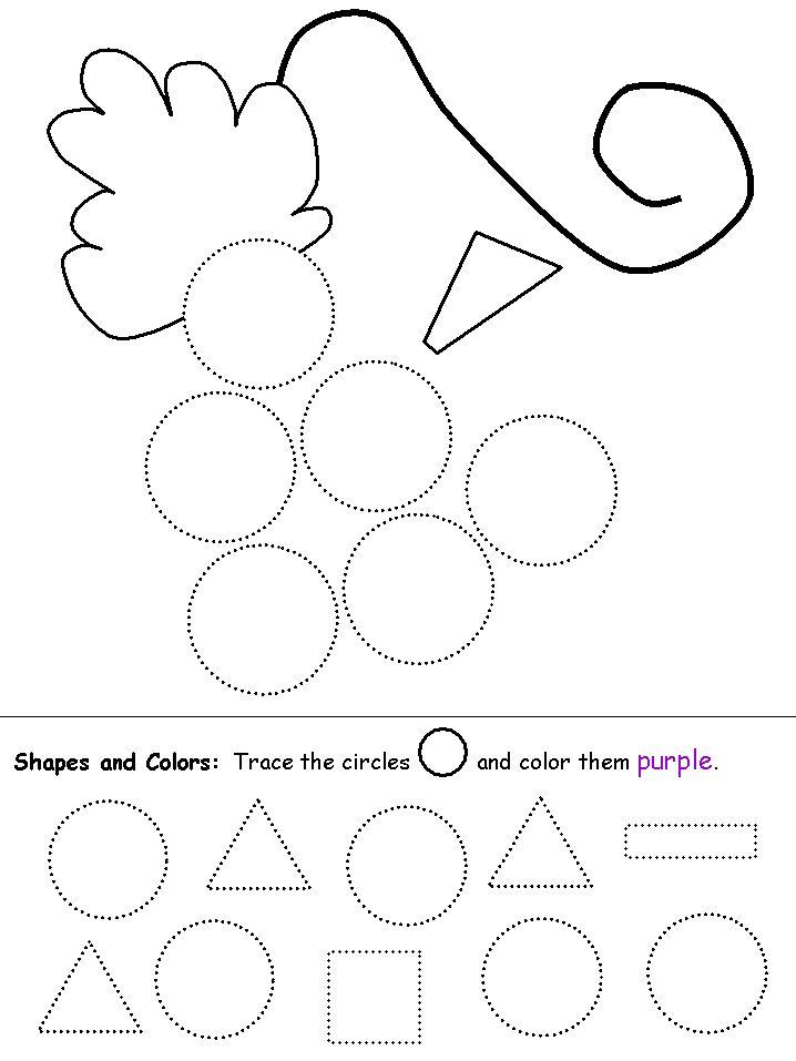 8 best images about Preschool Shapes on Pinterest