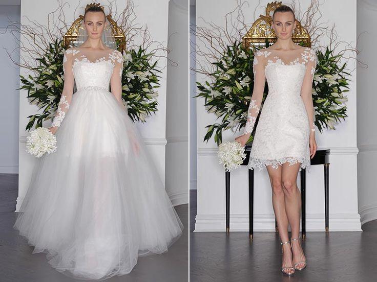 25+ Best Ideas About Detachable Wedding Skirt On Pinterest