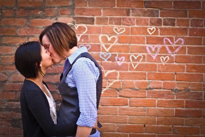 82 best images about Lesbian Engagement Photo Ideas on