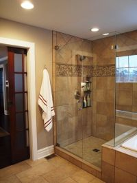 shower/pocket door Bathroom Small Showers Design, Pictures ...