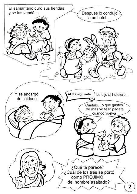 Pasatiempos sobre la Parábola del Buen Samaritano: Fuente