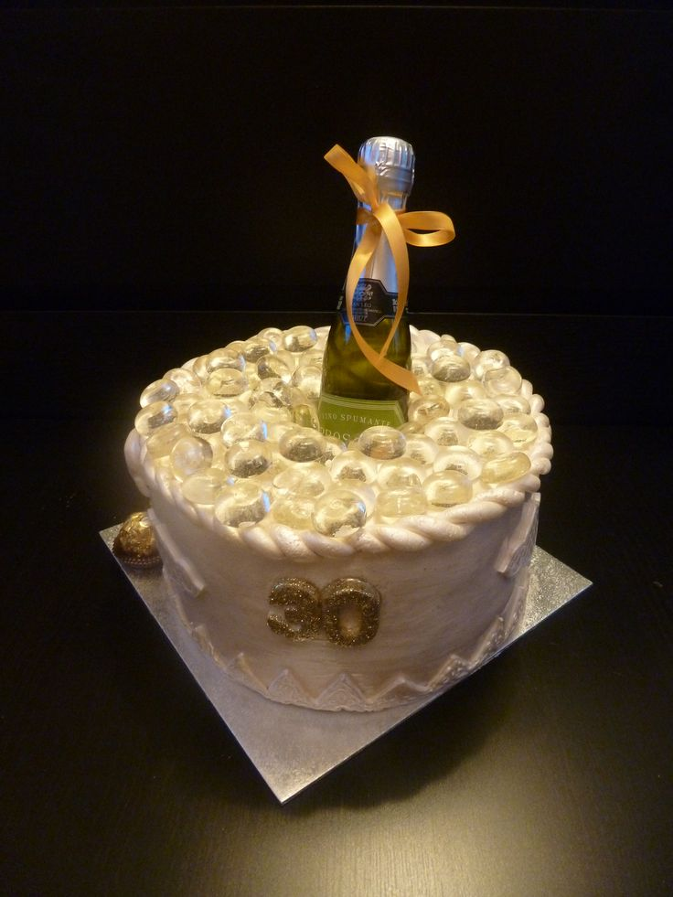 10 Best Images About Prosecco Cake Ideas On Pinterest