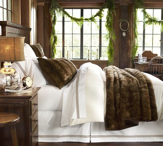 Warm and cozy while still bright and clean Faux Fur