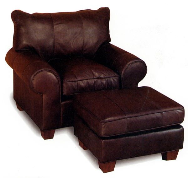 microfiber club chair with ottoman back massage pad oversize leather and from wellington's furniture-need for log cabin! love ...