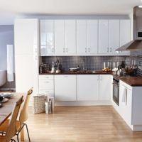 Kitchen-compare.com - IKEA Abstrakt High Gloss White ...