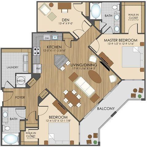 25 best ideas about Apartment Floor Plans on Pinterest