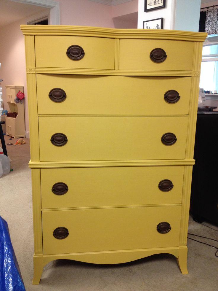25 Best Ideas About Yellow Chalk Paint On Pinterest