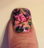 camo nail art tutorial