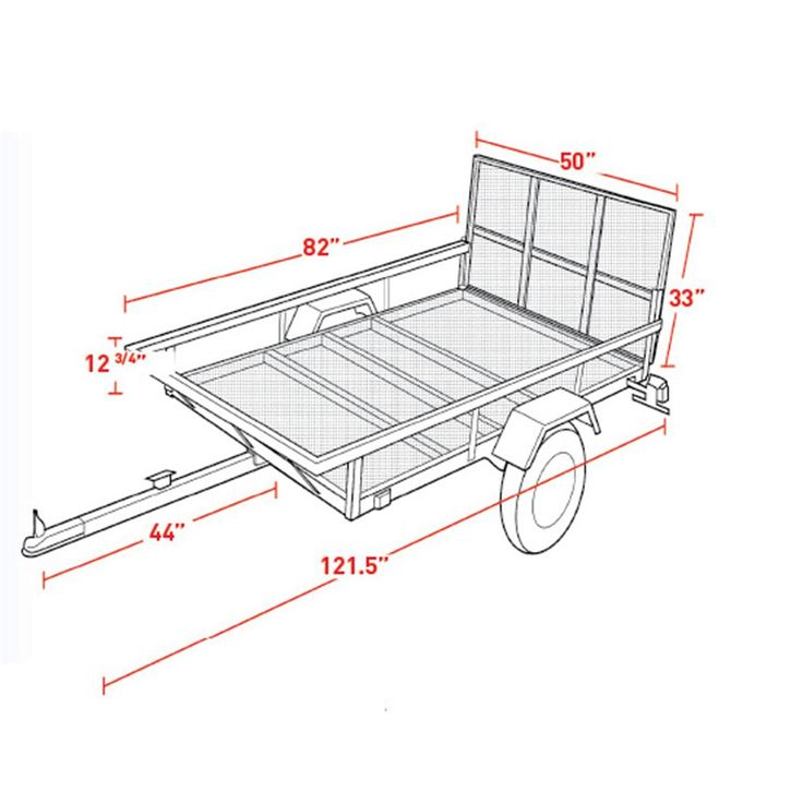 Only best 25+ ideas about Atv Utility Trailer on Pinterest