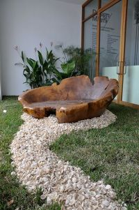 25+ best ideas about Tree Stump Furniture on Pinterest ...