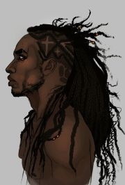black cartoon characters with dreads