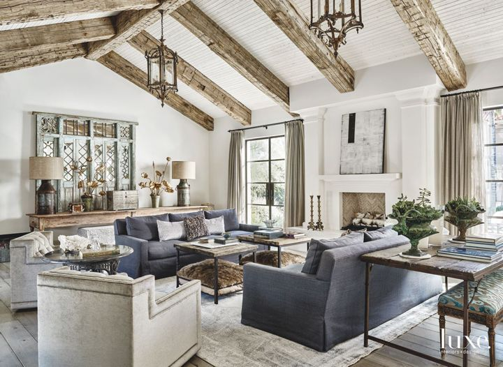 17 Best ideas about Rustic Living Rooms on Pinterest