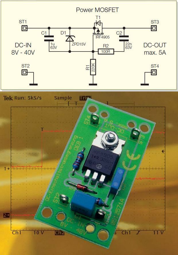 28v 68a Power Supply Circuit Diagram Using Lm317 And 2n3055