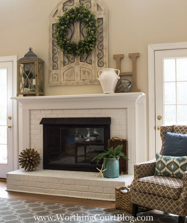 17+ best ideas about Red Brick Fireplaces on Pinterest
