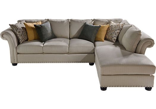 Shop for a Sofia Vergara Santa Barbara 2 Pc Sectional at Rooms To Go. Find Living Room Sets that will look great in your home and complement the rest of your furniture.: