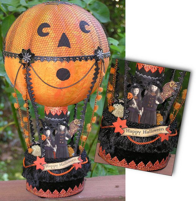 Halloween Hot Air Balloon I Think It S Made From A Glass