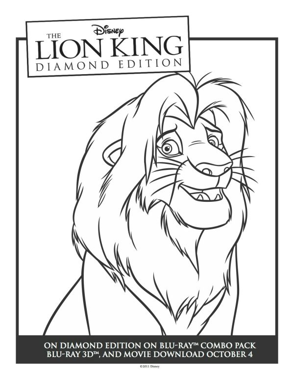 41 best Coloring Pages (The Lion King) images on Pinterest