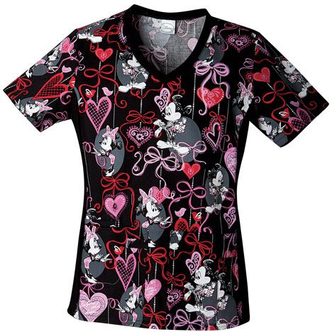 17 Best Images About Minnie Mouse Scrub Tops On Pinterest