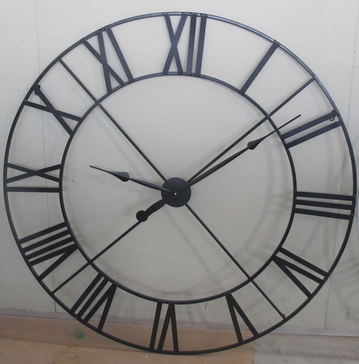 25+ best ideas about Extra large wall clock on Pinterest