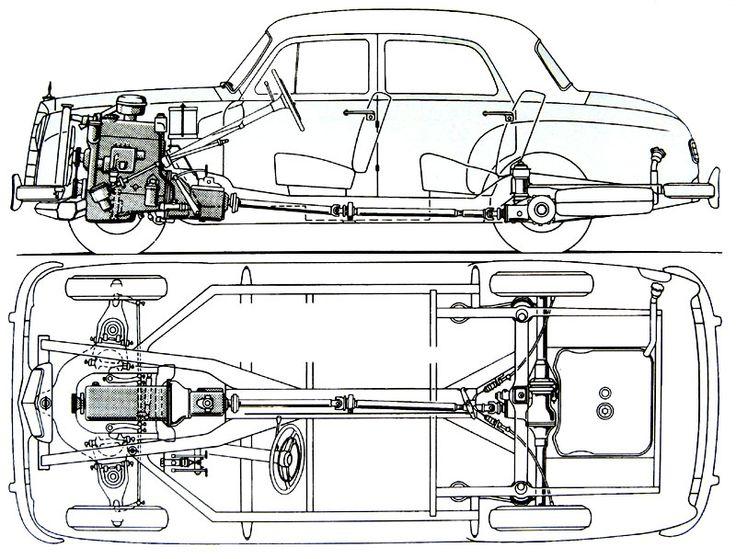 GALERIE: Mercedes-Benz 180 a 190 (W120/121)