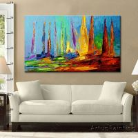 19 best images about Hand painted Canvas Oil painting Wall ...