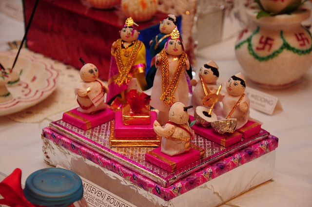 Rukhwat – Decorated Items In A Maharastrian Wedding