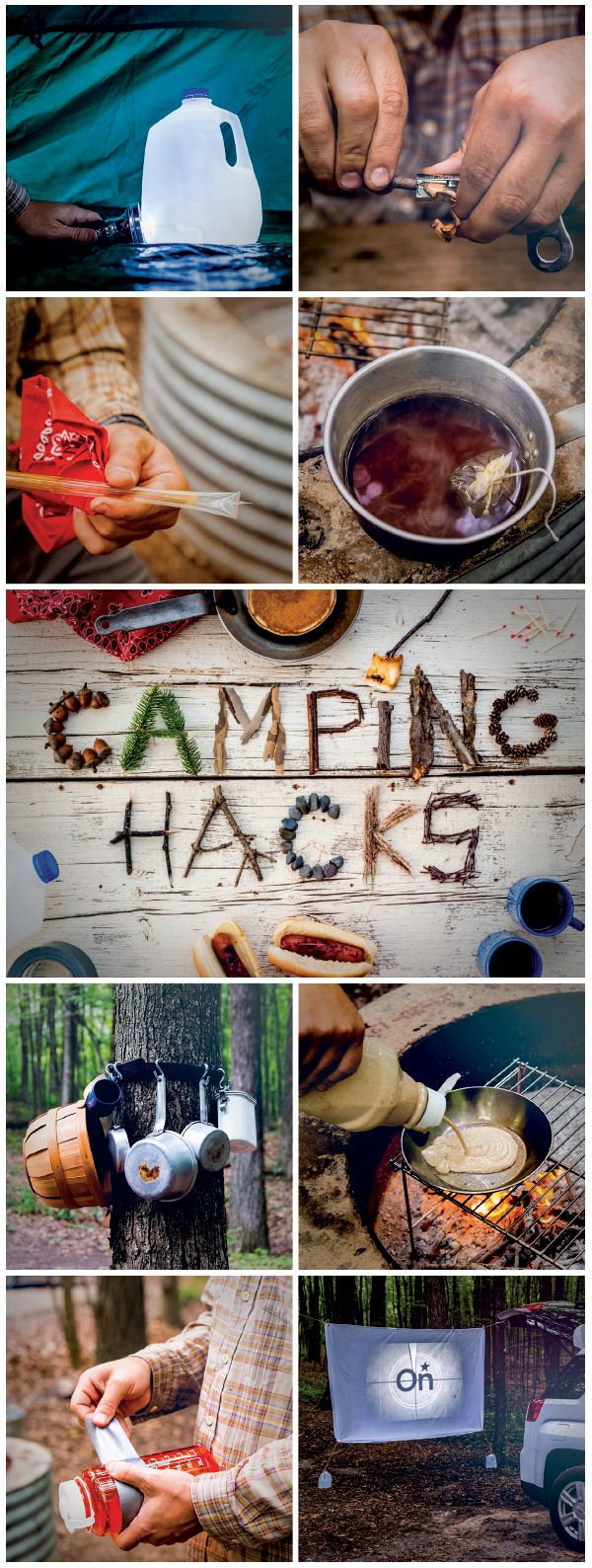 #Camping #tips and tricks that will change the way you #camp forever! See them