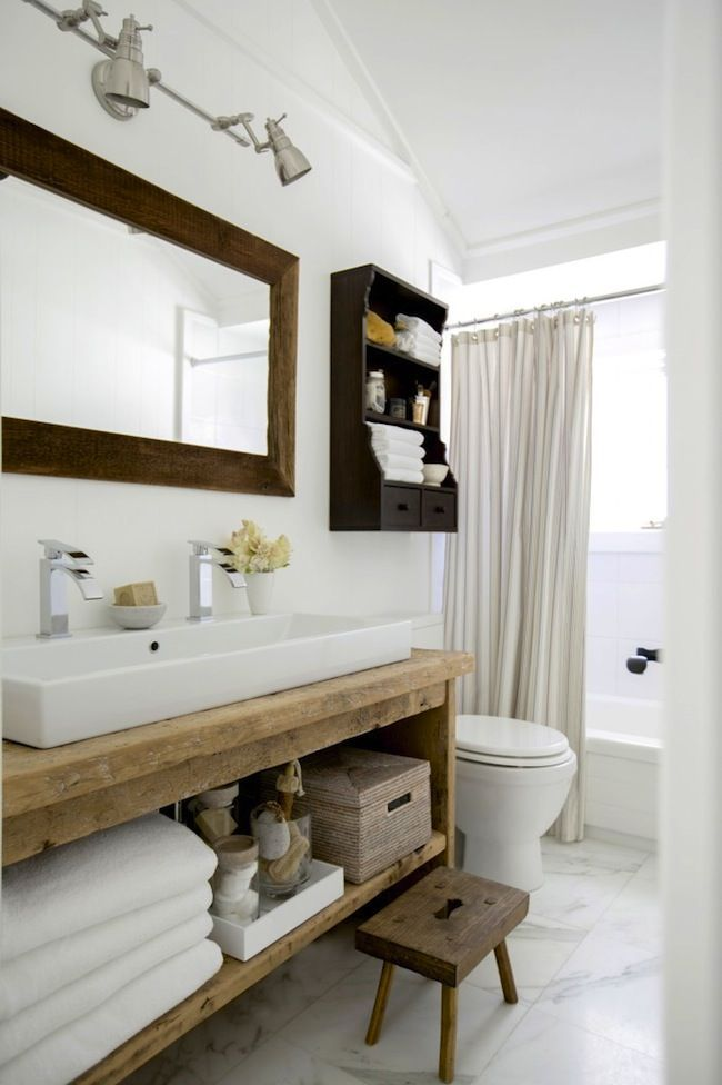17 Best ideas about Modern Country Bathrooms on Pinterest