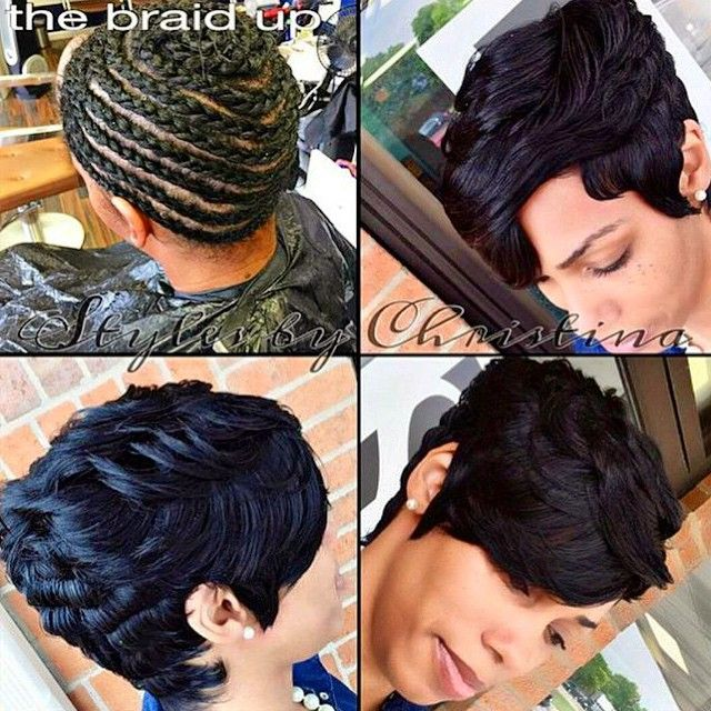 25 Best Ideas About Short Sew In Hairstyles On Pinterest Sew In