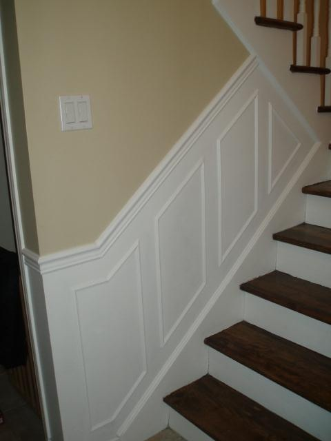 Staircase moulding