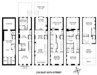 102 best images about Townhouse Floor Plans on Pinterest