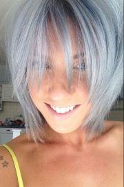grey hair cool