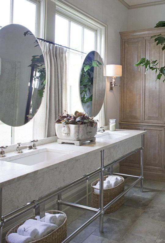priscilla curtains living room tv unit designs for india mirrors hung over windows | bath design pinterest ...
