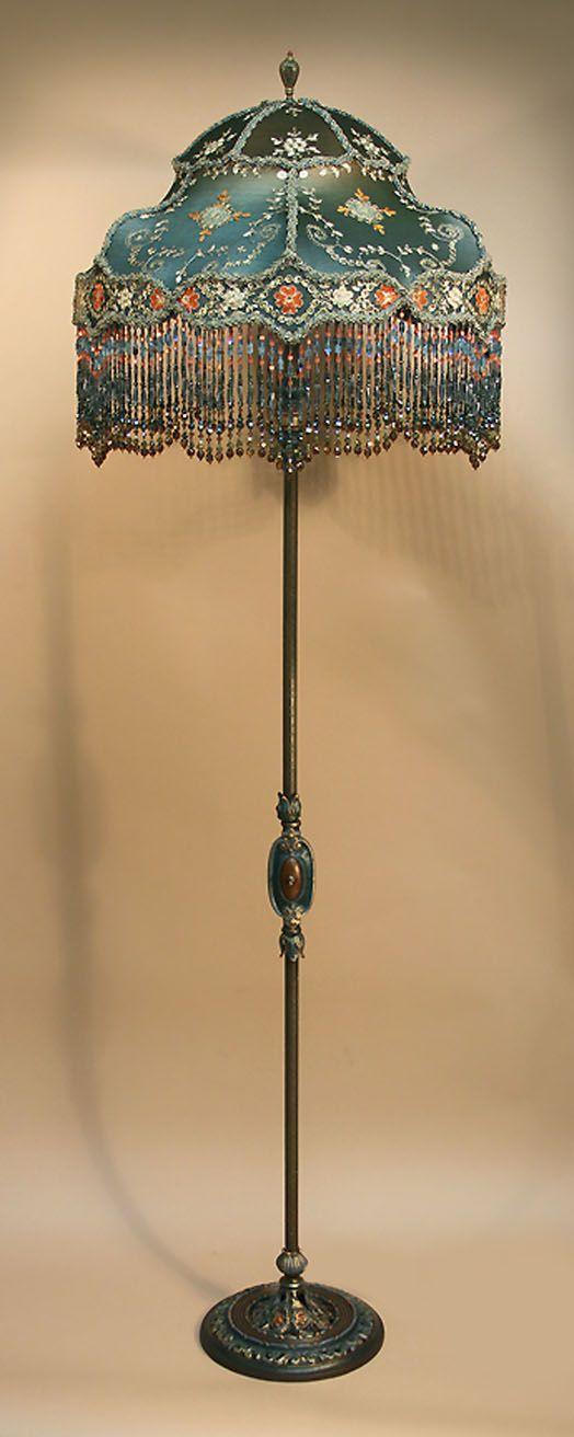 Vintage Victorian Floor Lamp