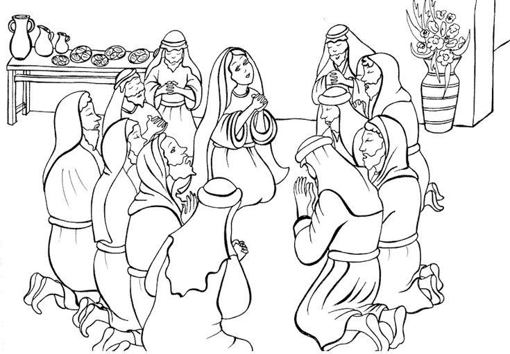 24 best images about Coloring: Bible: NT: Acts on