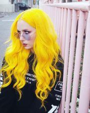 yellow hair ideas