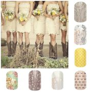 country wedding nails