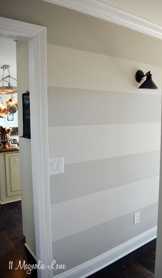 25+ best ideas about Grey Striped Walls on Pinterest