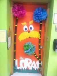 Dr Seuss door decoration