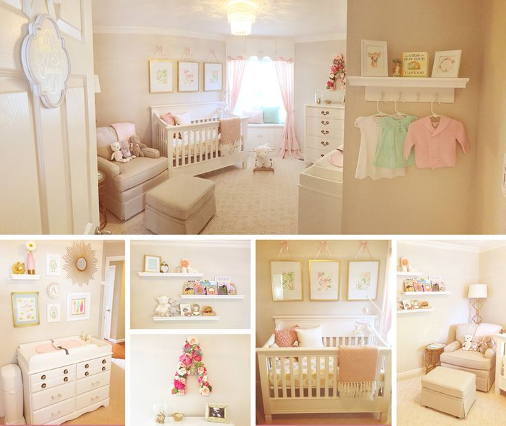 1000+ ideas about Pink Gold Nursery on Pinterest