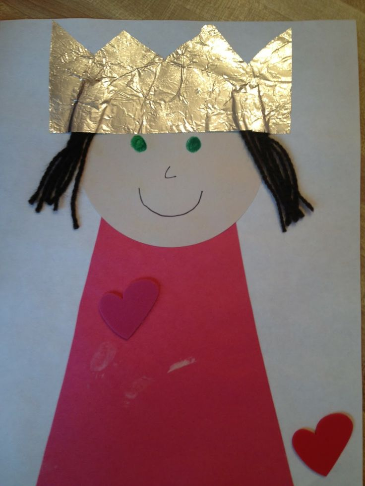 queen esther crafts  Preschool royalty abounds when each child makes this regal craft  VBS
